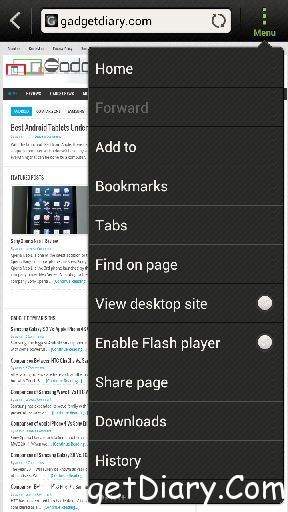 htc one x browser