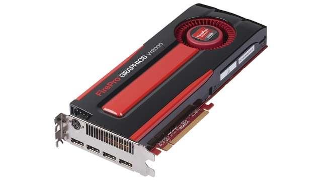 AMD firepro w8000