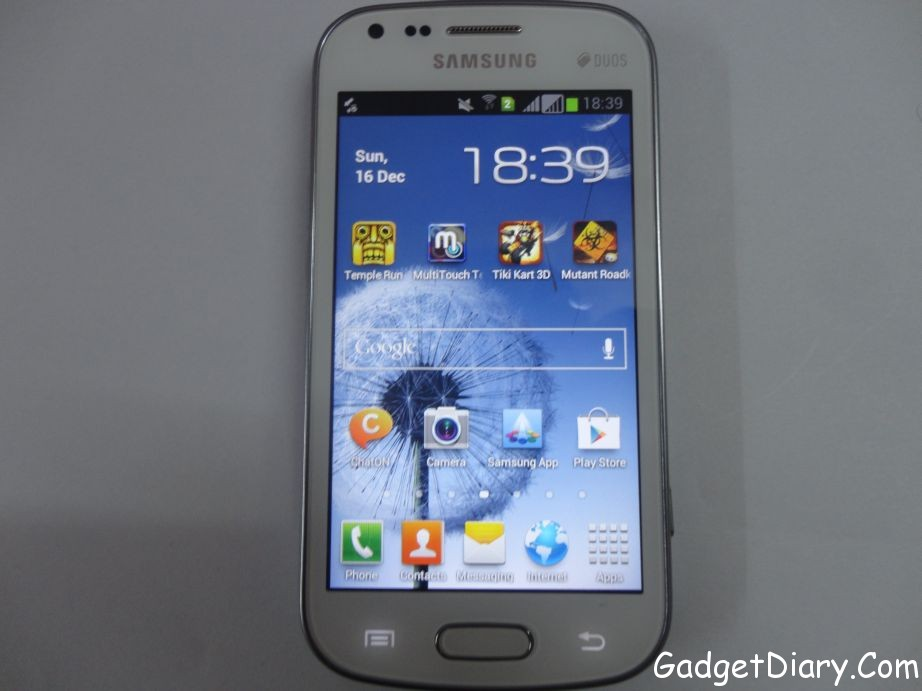Samsung Galaxy S Duos Review