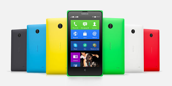Nokia X launched in India for Rs. 8,599