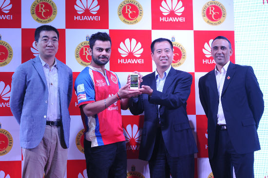 Huawei India partners with Royal Challengers Bangalore for IPL 2014