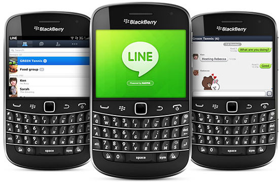 LINE updates its BlackBerry and Nokia Asha app with more features