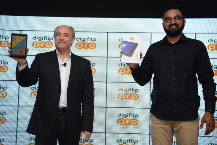 Flipkart launches Digiflip Pro XT712 tablet for Rs. 9999