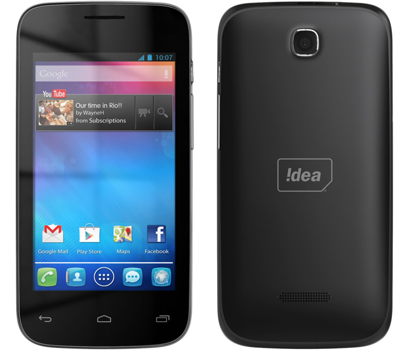 Idea launches ID 4000 3G smartphone in India for Rs. 4,999