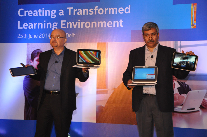 Intel Education 2 in 1 launch