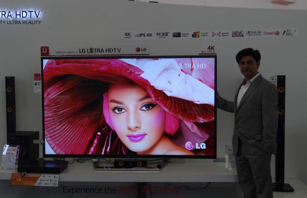 LG 4K Ultra HD TV (NXPowerLite)