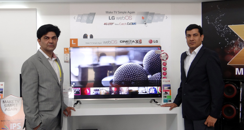 LG unveils ULTRA HD TV and WebOS Smart TV at India Gadget Expo