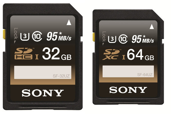 Sony launches UZ Series of Ultra High Speed SD cards in India