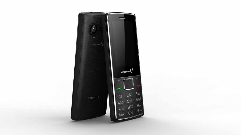 Videocon launches VStyle feature phone series in India