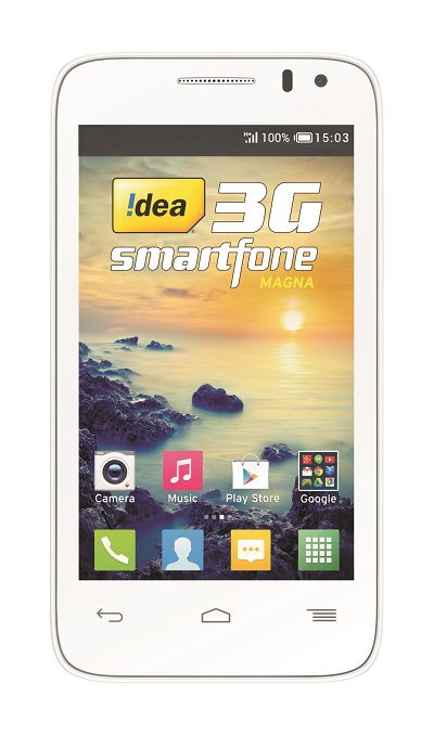 Idea Launched Magna and Magna L 3G smartphones in India