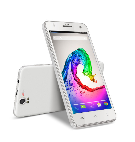 LAVA Iris X5 White color