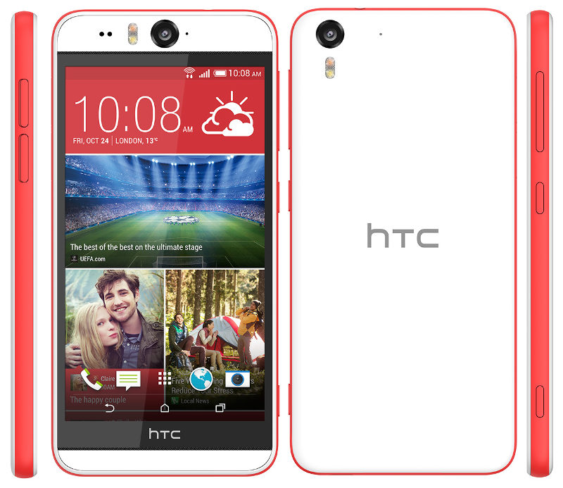 HTC Desire EYE with dual 13MP camera goes official