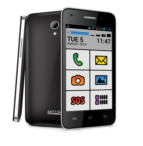 Mitashi PLAY Senior Friend – A Smartphone for Senior Citizens launched in India!