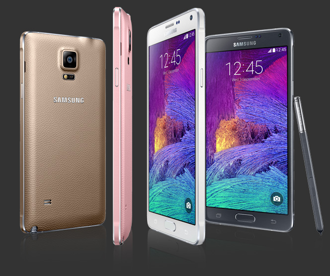 Samsung Galaxy Note 4 – Specifications, Price  & Hands-on