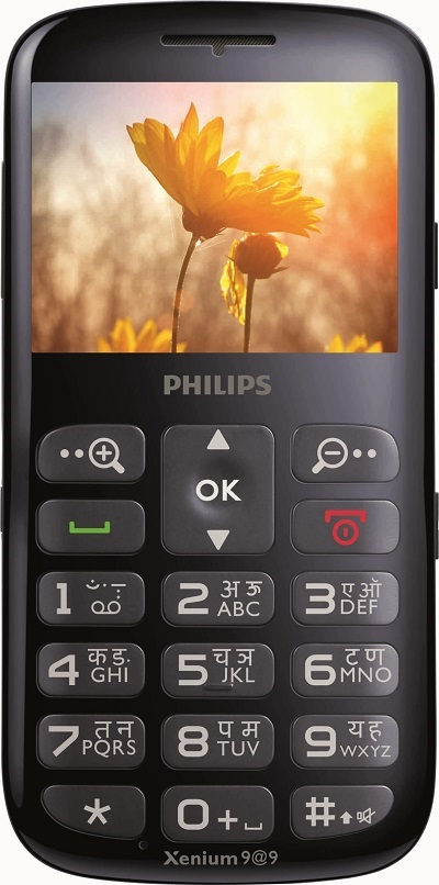 Philips Mobile launches first-of-its kind feature phone for Senior Citizens