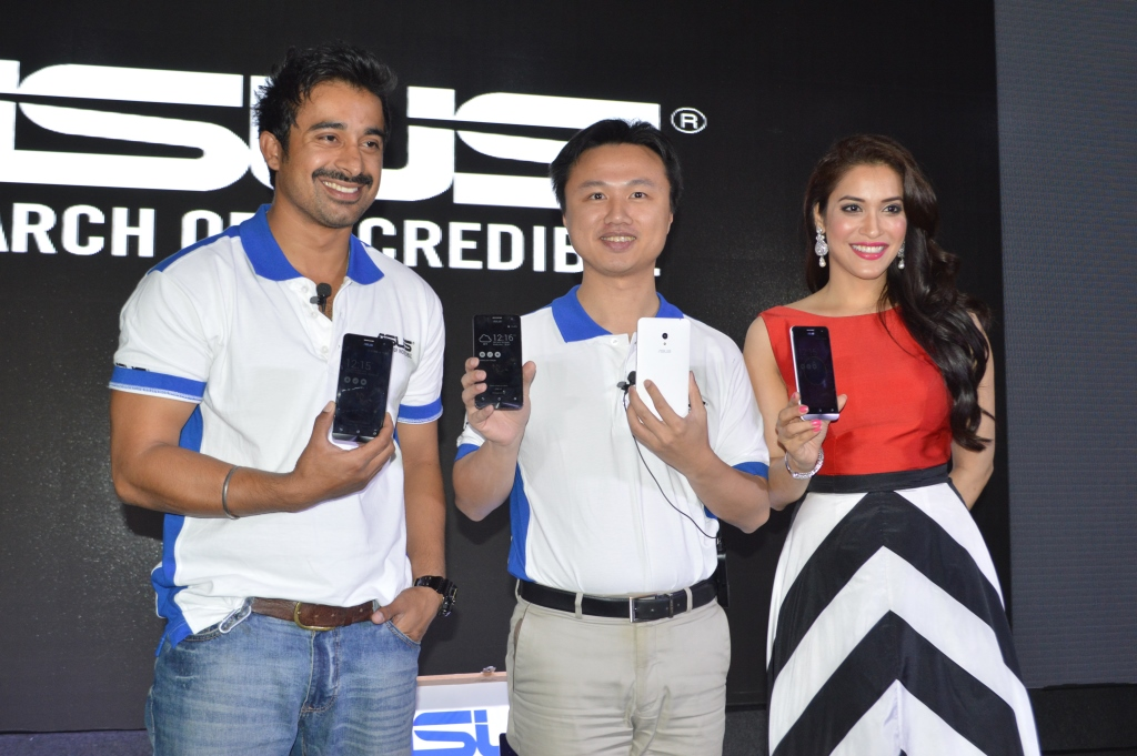 Left to Right- Rannvijay, Peter Chang, Regional Head, South Asia & Country Manager -System Business Group ASUS (2)