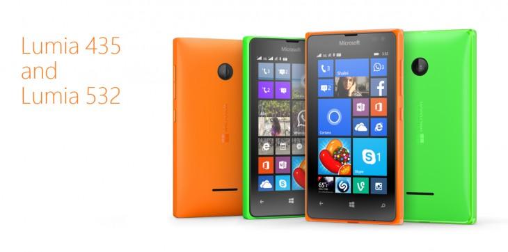 Lumia 532 and 432