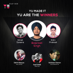 Yu announces winners of its YUCreateIt Campaign