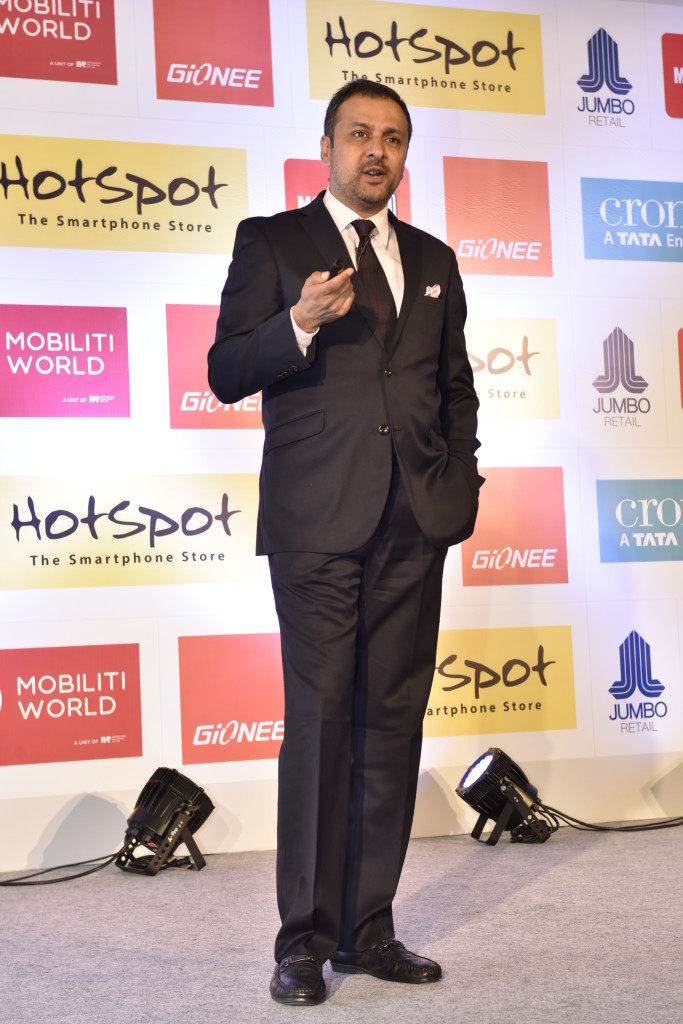 Mr. Arvind Vohra, Country CEO & MD, Gionee India