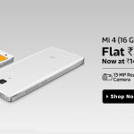 Xiaomi Mi 4 16GB Price Slashed, Now Available at Rs 14999