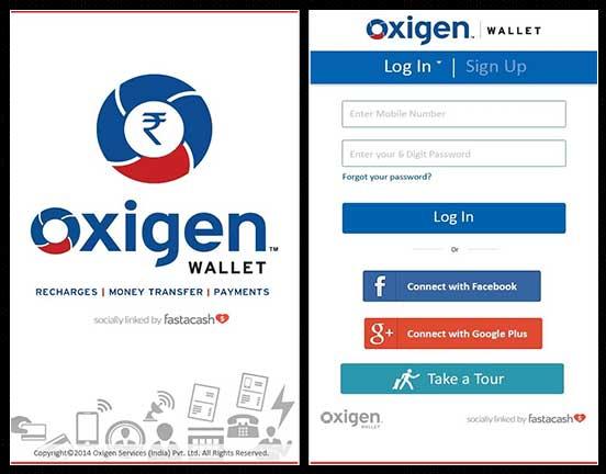 Oxigen-wallet-app