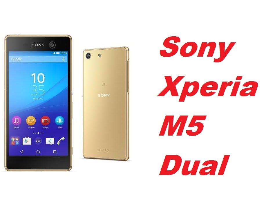 Xperia M5 dual gold image