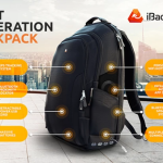 iBackPack: The Next Gen backpack with GPS Tracking, Wi-Fi HotSpot