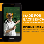 InFocus M260 with 3G and 1 GB RAM launched at INR 3999