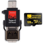 Nitro Micro SDXC Card with Type-C Card Reader launched by Strontium