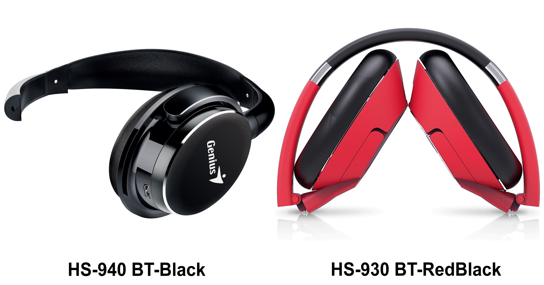 Genius 2-940BT Black & 930BT Red Black