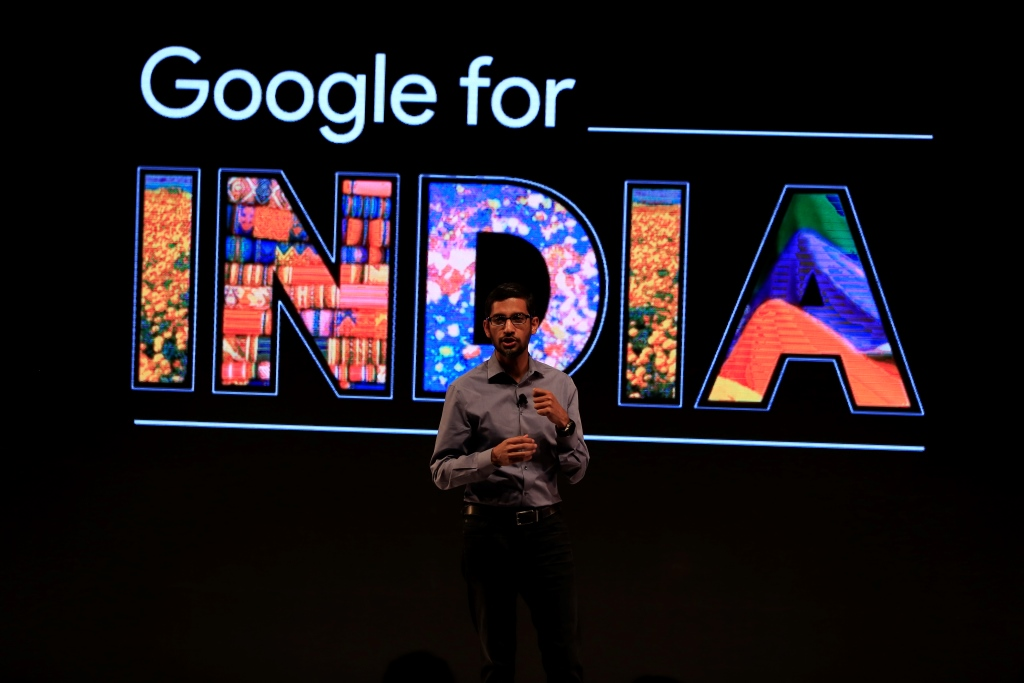 Sundar Pichai, Google for India (2)