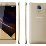 Upgraded Gold Color Honor 7 With 32GB Storage and Android Marshmallow Announced