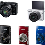 Canon Launches Compact IXUS and EOS Mirrorless Series Cameras In India