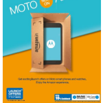 Motorola Announces Introductory Discounts For Its Amazon Product Portfolio