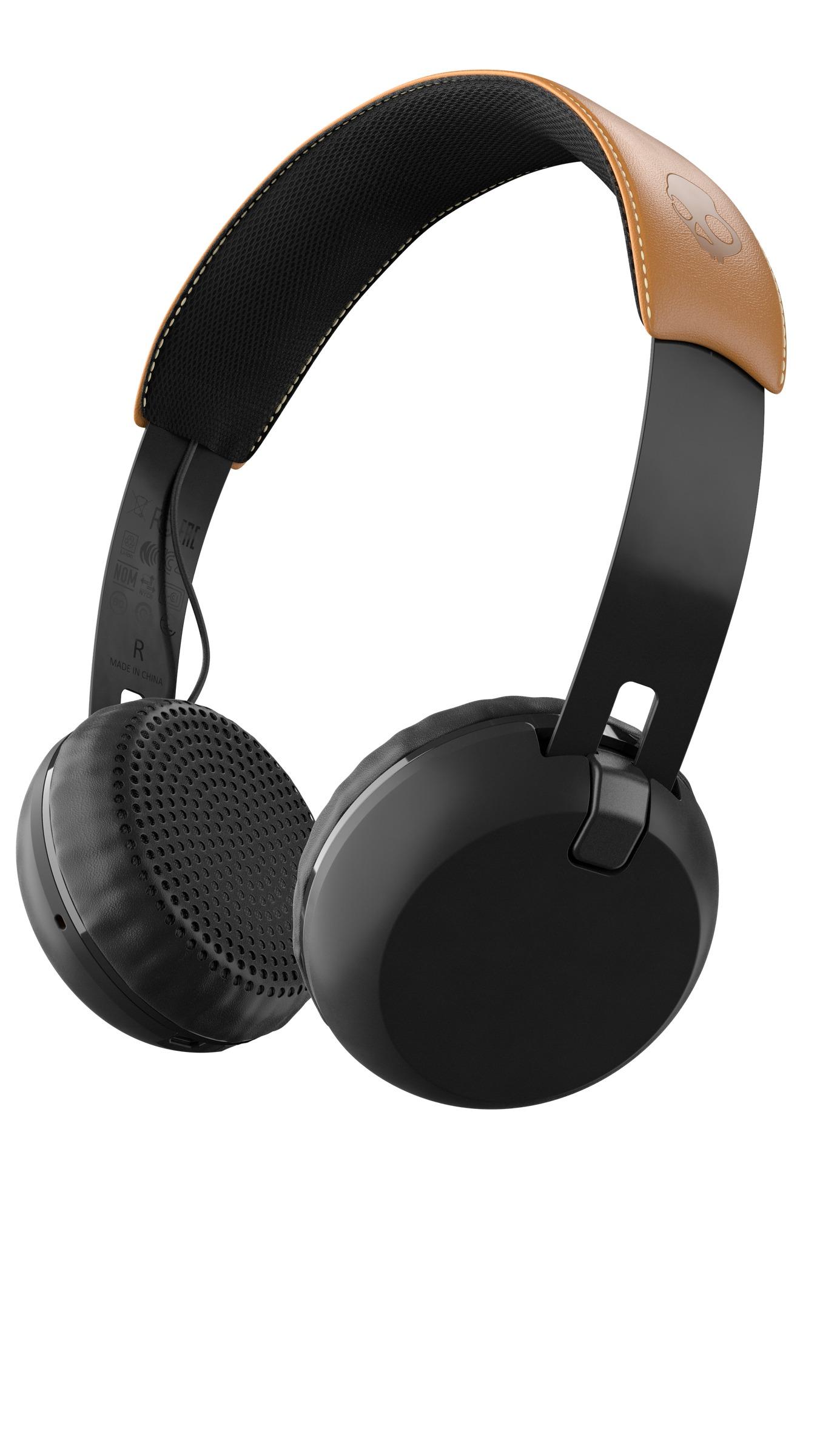 Grind Wireless_Black Black Tan_3-4_S5GBW-J543
