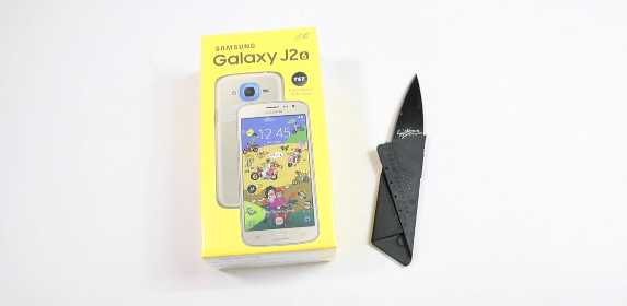 Samsung Galaxy J2 2016 Unboxing
