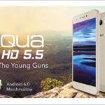 Intex Aqua HD 5.5 With HD Display And Marshmallow Launched At 5,635 INR