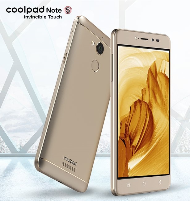 Coolpad Note 5 With 4GB RAM Launched At 10,999 INR |
