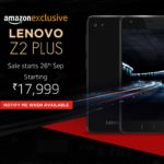 Lenovo Z2 Plus With Snapdragon 820 Launched At 17,999 INR