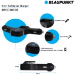 Blaupunkt Launches Car Chargers, Cables And Earphones In India
