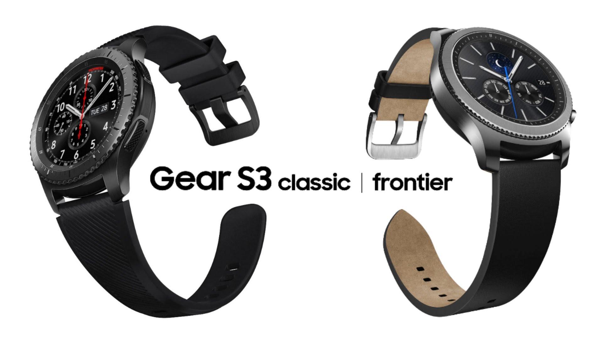 samsung gear s3 frontier vs classic