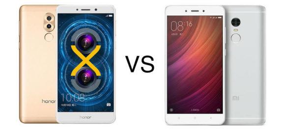 Xiaomi Redmi Note 4 vs Honor 6X [Specs Comparison]