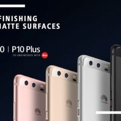 Huawei P10 and P10 Plus with Dual Rear Cameras announced at MWC 2017