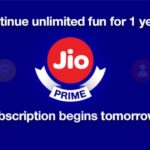 Reliance Jio announces new plans for Jio Prime members Starting at Rs. 149