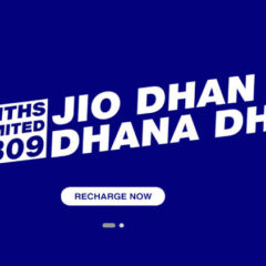 Last Day to recharge Jio to continue Data Services & Outgoing Calls