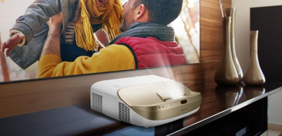BenQ W1600UST Home Projector With Ambient Light Reflection Screen Launched In India