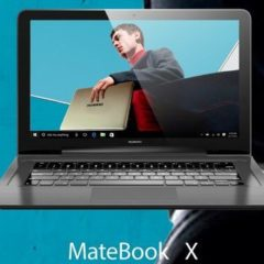 Huawei Launches Windows 10 Based MateBook E, MateBook D, and MateBook X