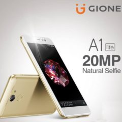 Gionee A1 Lite With 20MP Selfie Camera Goes Official
