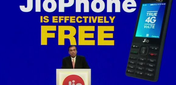 JioPhone 4G VoLTE Enabled Feature Phone Launched For Free