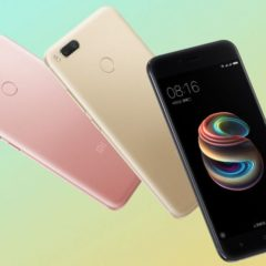 Xiaomi Mi 5X With 5.5inch FHD Display And 4GB RAM Announced